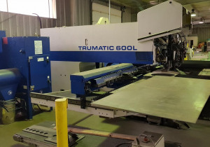 Combined punching and laser cutting machine TRUMPF Trumatic 600L