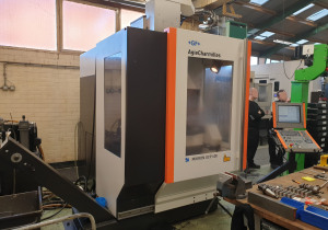 Mikron Ucp 600 Five Axis Machining Center