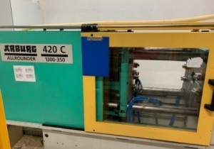 Injection Molding Machine Arburg 420 C 1300 - 350