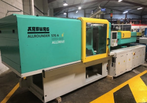 Injection Molding Machine Arburg 570 A 2000 – 800