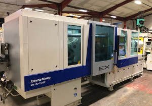 Krauss Maffei KM 120-750EX Injection moulding machine