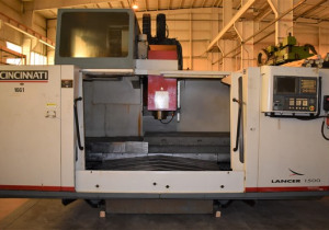 Lancer-1500 Cincinnati-Milacron Cnc Vertical Machining Center