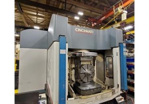 CINCINNATI HPC-630XT 5-AXIS CNC HORIZONTAL MACHINING CENTER