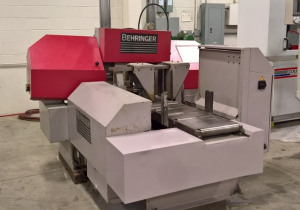 """Behringer HBP303A Fully Automatic CNC Horizontal Band Saw   11.8"""" X 11.8"""" Cap"""