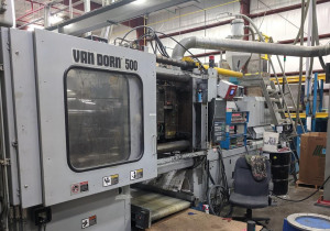 Used 500 Ton Van Dorn 500Hp4300 Injection Molding Machine