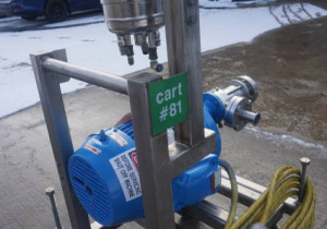 Ika Dr3-6/6A Two Stage Inline High Shear Mixer, Explosion Proof Motor