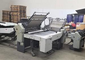 Heidelberg Stahlfolder B1430