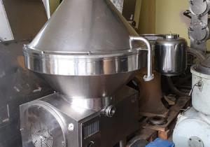 Used Milk Skimming Separator Nagema Model Kma-25