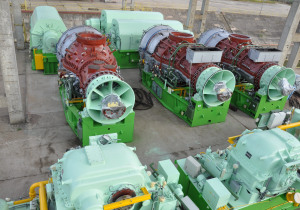 Gas Turbine ASEA Brown Boveri B.V. 50MW