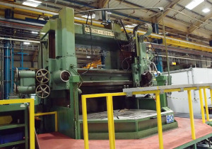 Webster & Bennett 120 Dch Double Column Vertical Boring And Turning Machine