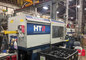 Used 300 Ton Van Dorn 300Ht1220 Injection Molding Machine