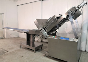 Weber CCS 7000 Automatic Slicer with conveyor belt