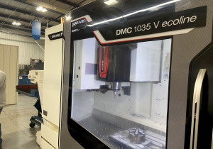 Vertical DMG MORI DMC 1035V
