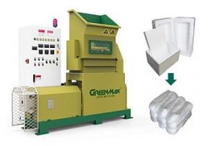GREENMAX M-C200 Styrofoam densifier machine