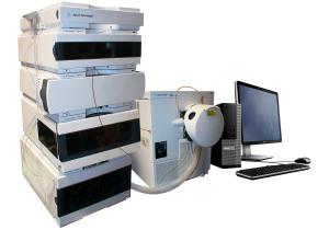Agilent 1290 Infinity HPLC with Agilent 6150B LCMS System