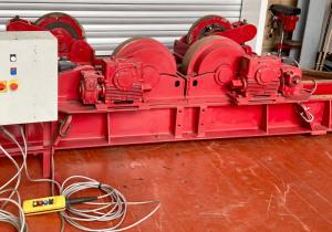 Used Bode 30 Ton Steel Wheeled Rotators