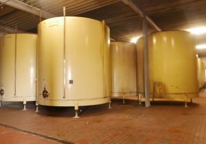 Storage tanks/ steel tanks 60.000 liter
