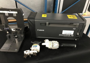 Canon XJ76 x9.3 B-IED with servo control kit, lens supporter & flight-case