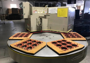 "Used Zed 15-Rs Rotary Sealer, 15"" X 18"" Sealing Area"