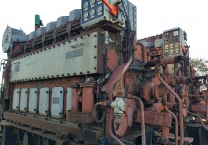 2 x MAK 6M20 Diesel Engines FOR SALE