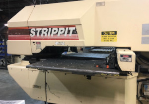 Lvd Strippit Model 1000 Xp Cnc Turret Punch