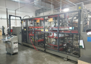 "Used 2001 Armac Dt 3030, 30"" X 30"" Forming Area, Inline Thermoformer"