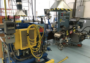 Used 7″ Wide Davis-Standard Lab Sheet Extrusion Line With 1.25″ Extruder
