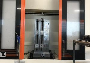 MAZAK 4-axis machining center HCN 6000 palletized (roto pallet (2)) 60 tools.