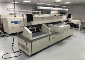 MyData My19E Pick & Place Machine - Hydra & Linescan