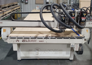 Used 2012 Used Axyz 5′ X 22′ Cnc Router