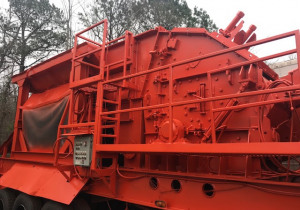 999 EAGLE CRUSHER Model 500-05CV Usine de concassage portative à percussion,