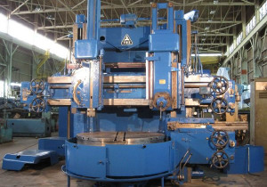 63″ Tos Double Housing Vertical Boring Mill