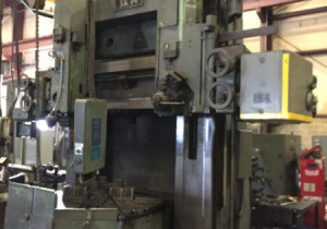 55″ Tos/Hulin Double-Housing Vertical Boring Mill