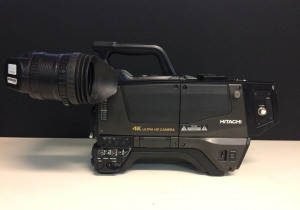 Used Hitachi 4K Broadcast camera chains