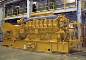 Gas power station Caterpillar G3616