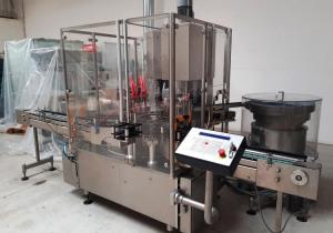 BAUSCH STROEBEL  LFO 100  KSF 1020  - Bottle filling-caping machine