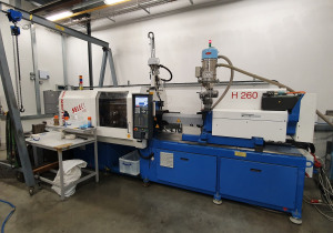 Billion H260/100T Select Injection moulding machine (all electric)