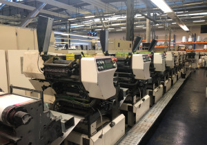 Nilpeter MO 3300 S Label printing machine