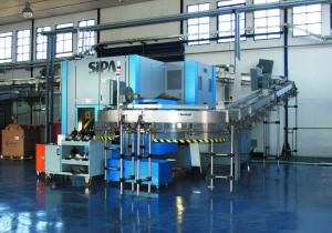 Sipa SFR 8 Complete bottling unit 12 000 units per hour