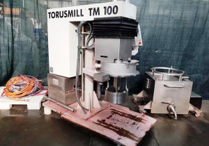VMA   MOD. TORUSMILL TM100 - Dispersion basket mill with dissolver disc used