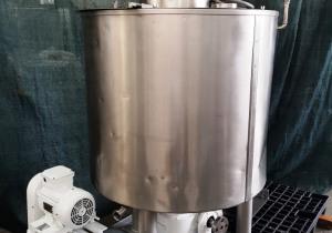 ZINOX - Turboemulsifier mixer used 300 L