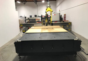 "Used 2008 Multicam 3000 Model 3-307, 80"" X 193"" Table"