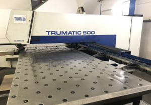 CNC Punching Press TRUMPF TRUMATIC 500 R