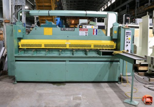 "1/4"" x 10' BETENBENDER MD#10-1/4 HYDRAULIC SHEAR,MFG:2005"