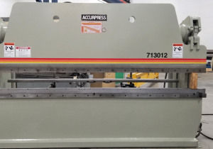 130 Ton X 12' Accurpress