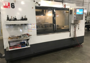 HAAS VF6/50 3-Axis CNC Vertical Machining Center