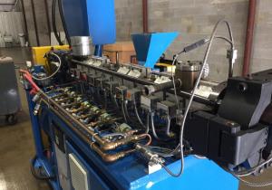 26 Mm Nfm Co-Rotating Twin Screw Pelletizing Line 44:1 L/D