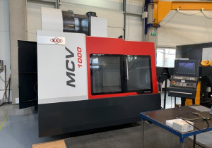 Mas Mcv 1000 3-Axis Milling Machine Center