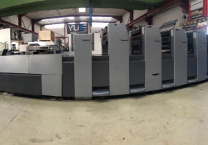 Heidelberg SM 52-5P+LX Offset Printing Machine