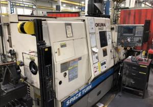 Okuma Space Turn LB400-M, OSP U100L